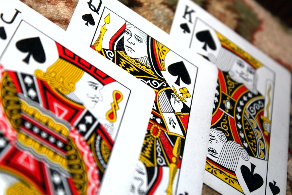 3 poker cards